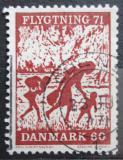 Poštovní známka Dánsko 1971 Pomoc uprchlíkům Mi# 509