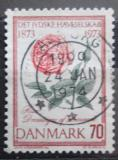 Poštovní známka Dánsko 1973 Růže Mi# 544
