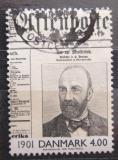 Poštovní známka Dánsko 2000 Noviny z roku 1901 Mi# 1234