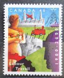 Poštovní známka Kanada 2000 Ministerstvo práce, 100. výročí Mi# 1932