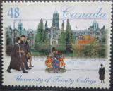 Poštovní známka Kanada 2002 Univerzita Toronto, 150. výročí Mi# 2044