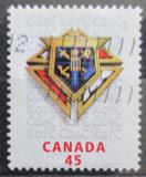 Poštovní známka Kanada 1997 Kolumbův rytířský řád, 100. výročí Mi# 1634