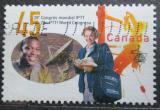 Poštovní známka Kanada 1997 Kongres telekomunikací Mi# 1635