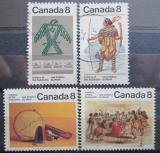 Poštovní známky Kanada 1975 Indiánské umění Mi# 587-90