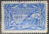 Poštovní známka Kanada 1951 Rybolov Mi# 265 Kat 9€