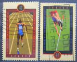 Poštovní známky Kanada 2001 MS v lehké atletice Mi# 1992-93
