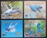 Poštovní známky Penrhyn 2008 Volavky, WWF Mi# 611-14 Kat 9.50€