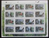 Poštovní známky Komory 2009 Netopýři, WWF Mi# 2212-15 Bogen Kat 28€
