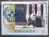 Poštovní známka Kanada 1995 OSN, 50. výročí Mi# 1520