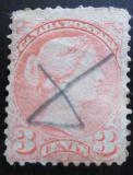 Poštovní známka Kanada 1871 Královna Viktorie SC# 37a Kat $15