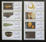 Poštovní známky Irsko 2017 Dějiny Irska Známky z automatu ATM
