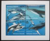 Poštovní známky Šalamounovy ostrovy 2012 Velryby Mi# 1501-04