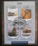 Poštovní známky Sierra Leone 2016 Tuleni Mi# 7583-86 Kat 11€