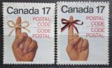 Poštovní známky Kanada 1979 Zavedení PSČ Mi# 724-25