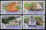 Poštovní známky Šalamounovy ostrovy 2015 Kočky Mi# 3162-65 Kat 17€