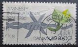 Poštovní známka Dánsko 1986 Amnesty International Mi# 856