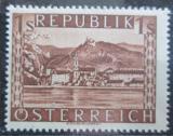 Poštovní známka Rakousko 1946 Dürnstein Mi# 767 I