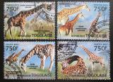 Poštovní známky Togo 2013 Žirafy Mi# 4831-34 Kat 12€