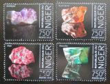 Poštovní známky Niger 2013 Minerály Mi# 2525-28 Kat 12€
