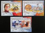 Poštovní známky Niger 2015 Dobývání Marsu Mi# 3566-68 Kat 13€