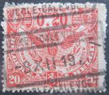 Poštovní známka Belgie 1920 Železniční Mi# 81