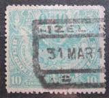 Poštovní známka Belgie 1920 Železniční Mi# 79