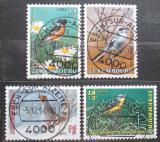Poštovní známky Lucembursko 1994 Ptáci Mi# 1353-56
