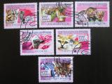 Poštovní známky Guinea 2008 Asijské kočky Mi# 6088-93