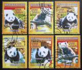 Poštovní známky Guinea 2008 Pandy Mi# 5581-86