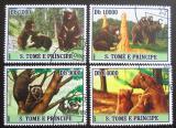 Poštovní známky Svatý Tomáš 2007 Medvědi Mi# 3040-43