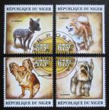 Poštovní známky Niger 2013 Malí psi Mi# 2162-65