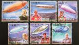 Poštovní známky Mosambik 2012 Vzducholodě Mi# 5596-5601 Kat 14€