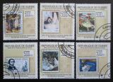 Poštovní známky Guinea 2009 Umění, impresionismus Mi# 7065-70 Kat 12€