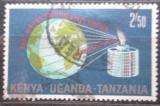 Poštovní známka K-U-T 1970 Intelsat a zeměkoule Mi# 204