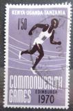 Poštovní známka K-U-T 1970 Hry Commonwealthu Mi# 207