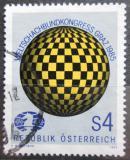 Poštovní známka Rakousko 1985 Šachová federace Mi# 1823