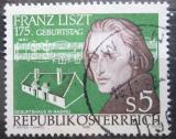 Poštovní známka Rakousko 1986 Franz Liszt Mi# 1866