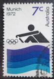 Poštovní známka Austrálie 1972 LOH Mnichov, Veslování Mi# 501