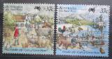 Poštovní známky Austrálie 1987 Australská kolonizace Mi# 1059-60