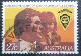 Poštovní známka Austrálie 1983 Mládežnická organizace Mi# 837