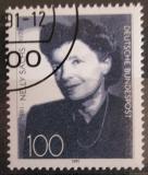 Poštovní známka Německo 1991 Nelly Sachs, spisovatelka Mi# 1575