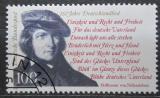 Poštovní známka Německo 1991 August von Fallersleben, básník Mi# 1555
