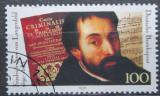 Poštovní známka Německo 1991 Friedrich Langenfeld, básník Mi# 1503