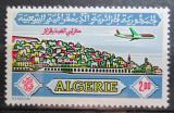 Poštovní známka Alžírsko 1971 Letadlo nad Alžírem Mi# 572