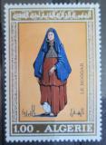 Poštovní známka Alžírsko 1975 Tradiční oděv Mi# 645