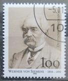 Poštovní známka Německo 1992 Werner von Siemens Mi# 1642