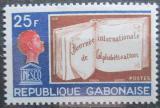 Poštovní známka Gabon 1968 Vzdělání pod UNESCO Mi# 312