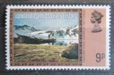 Poštovní známka Falklandské ostrovy Dep. 1980 Pohoří Mi# 86 I