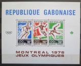 Poštovní známky Gabon 1976 LOH Montreal Mi# Block 30