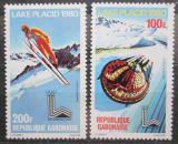 Poštovní známky Gabon 1980 ZOH Lake Placid Mi# 720-21